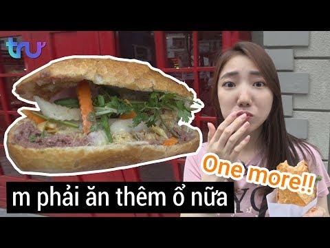 Lần đầu ăn Bánh Mì đến Nghẹn Lời Tại Việt Nam