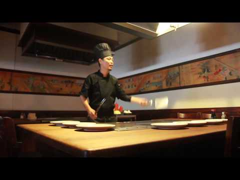Chef BJ,  Musashi Japanese Steakhouse In Gainesville VA