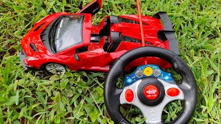 Bughatti Model RC Raceing Car open Door system | Steering Remote Controler | Rechargeable Toy Car