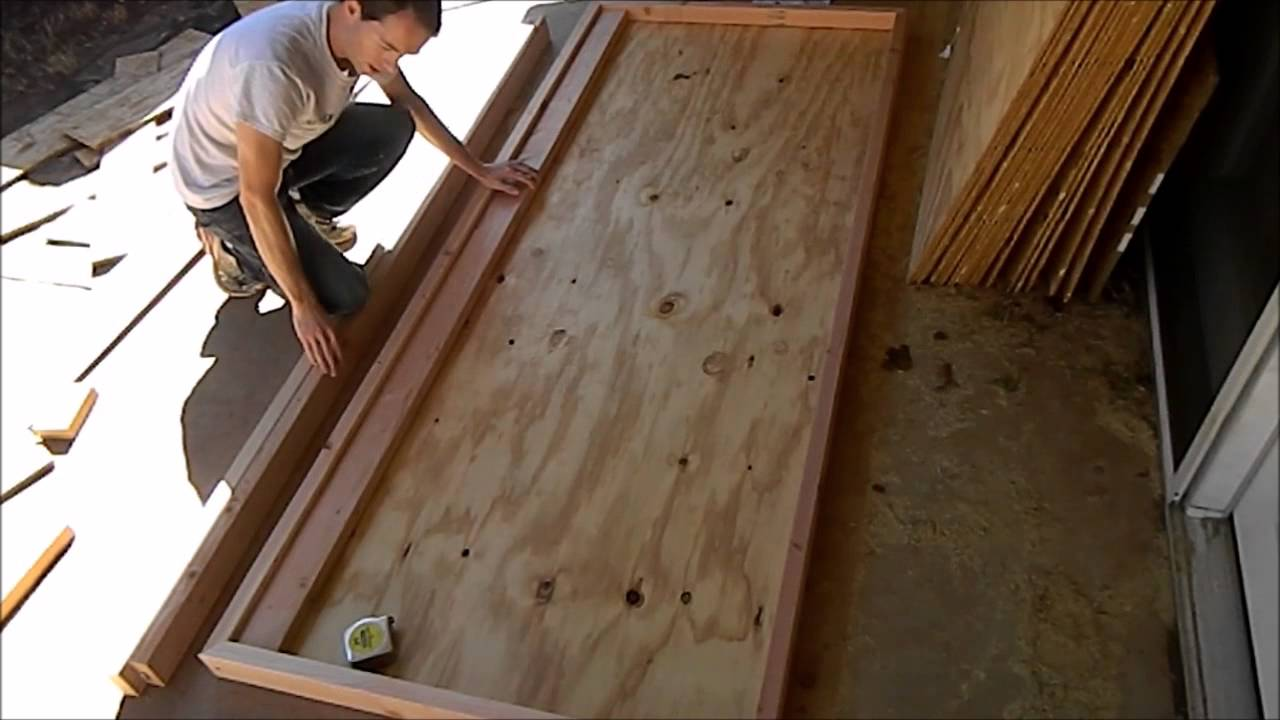Building a Door for my Workshop Mikes Inventions & Building a Door for my Workshop Mikes Inventions - YouTube