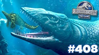 A Giant Lurks In The Depths!!! | Jurassic World - The Game - Ep408 HD
