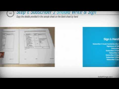 Video Guide on Signing MOA for Company Registration
