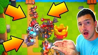 Take Down TRAINER CHEDDAR! Clash Royale Legendary Trainer!