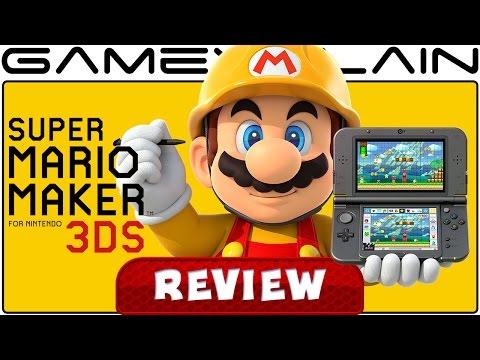Super Mario Maker 3DS - REVIEW