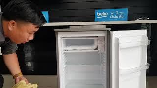 Hướng dẫn xả tuyết tủ lạnh beko 90 lít