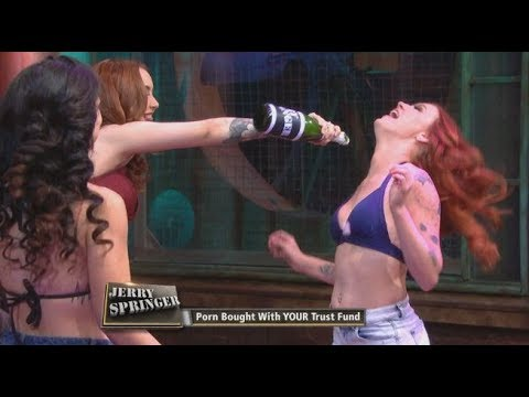 Jerry springer girls kiss, old womensex tubes