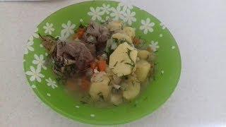 Баранина с картофелем (вок-кастрюля) видео рецепт
