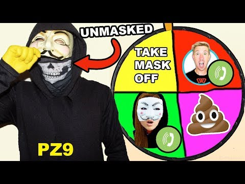 (PZ9 UNMASKED!!) SPINNING THE WHEEL & DOING WHATEVER IT LANDS ON!!