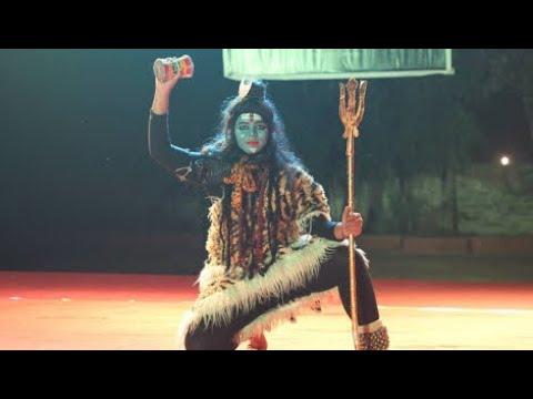 Best Fancy Dress-Shiva thandavam-crescent college
