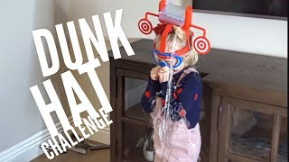 Hilarious Dunk Hat Family Game!!! Hit The Target And Get Soaked!