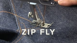Sew the Jeans Zip Fly - Definitive Guide