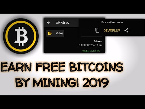 Free BTC MINING APP On ANDROID 2019