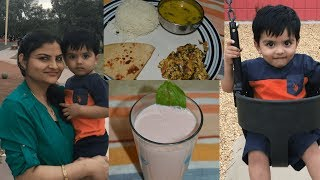 #Daily Vlogs | Indian Dinner, Watermelon Coolant  | Enjoying The Son