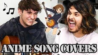 HOW MANY ANIME SONGS CAN WE COVER? (ft. Eddie van der Meer)