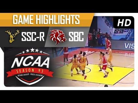 SSC-R vs. SBC | NCAA 93 | MB Game Highlights | September 15, 2017