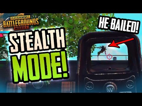 STEALTH MODE & WAITING FOR PUBG Mobile UPDATE!