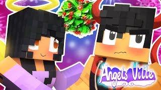 Hang Up The Mistletoe | Angelsville Minecraft Survival [Ep.14]
