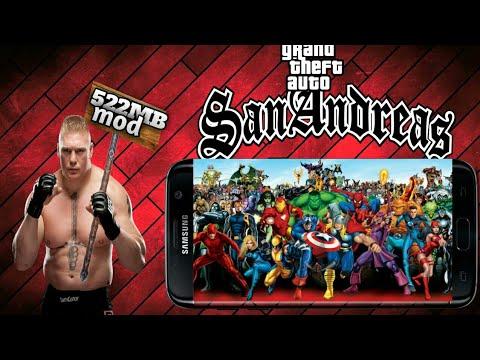 Gta Sandreas Best Superhero Mod Apk+Data - 동영상