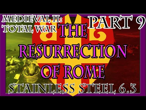 Medieval II | The Resurrection of Rome: Part 9 (Battle of Bari)
