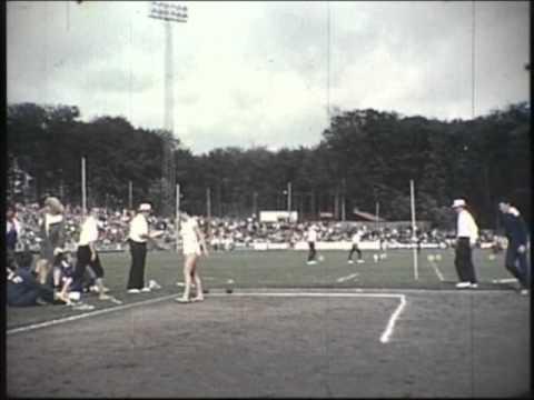 Atletik og håndbold - Landsstævne 1961 i Vingsted Vejle