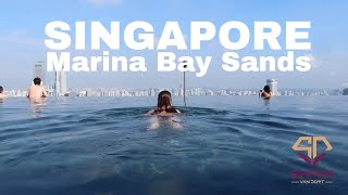 My first time in Singapore Marina Bay Sands | Luxury Tropical Holiday haul