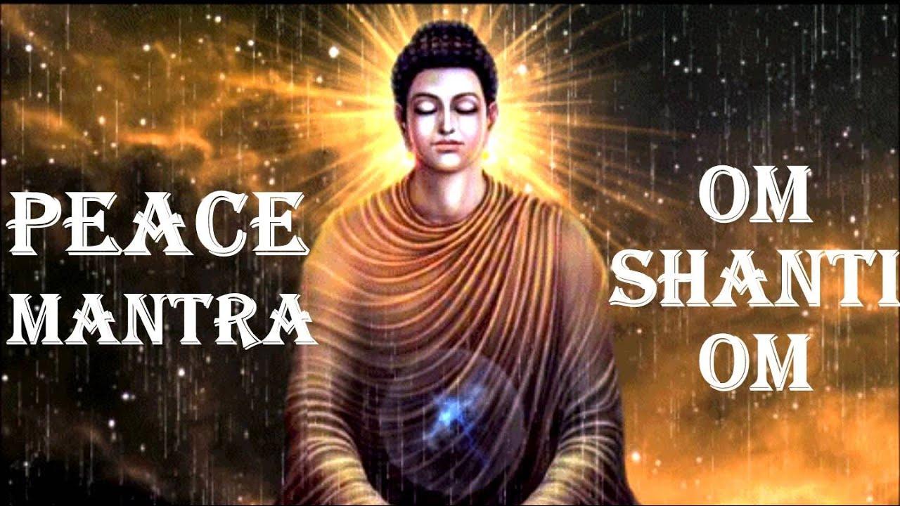 Peace mantra om shanti om youtube buycottarizona