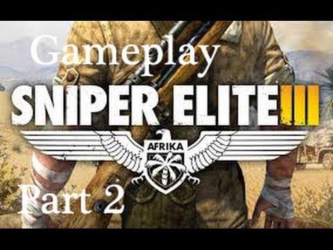 KILLING NAZI OFFICERS - Sniper Elite 3 Walkthrough Gameplay Mission 2 Gaberoun