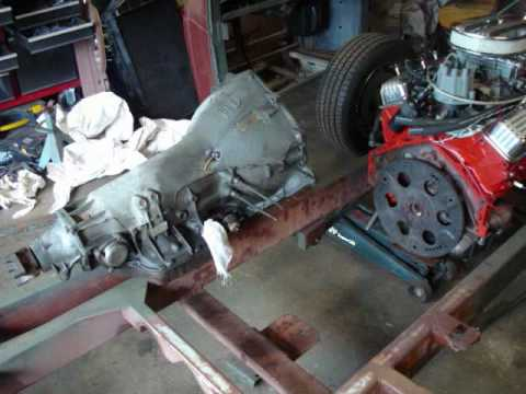 EVELYN #51  GM TH400 Automatic Transmission Installation  YouTube