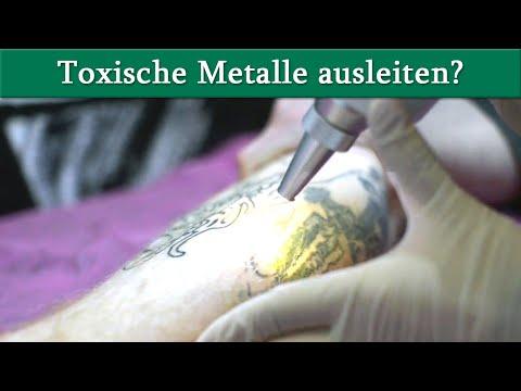 Toxische Metalle - ist eine Ausleitung sinnvoll? Information über die Chelattherapie