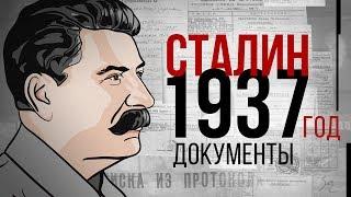Иосиф Сталин. 1937 год. Документы