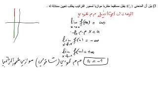 الفرض الاول للفصل الثاني في الرياضيات للثانية ثانوي (النهايات) رائع رقم 4