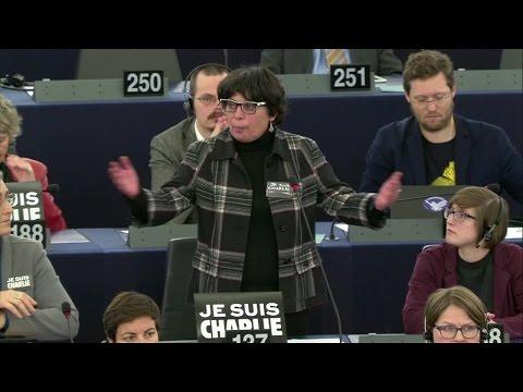 Charlie Hebdo - Intervention de Michèle RIVASI suite aux attentats perpétrés en France