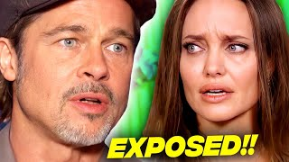 Brad Pitt's Lawyer Exposes Angelina Jolie For Lying And Destroying Brad
