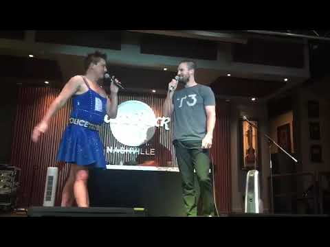 Hard Rock Night Stephen Amell sings with John Barrowman