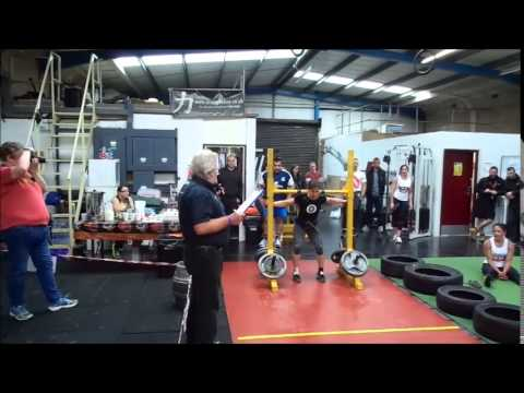 Britain's Strongest Woman 20th June 2015 at PTS Gym Northampton