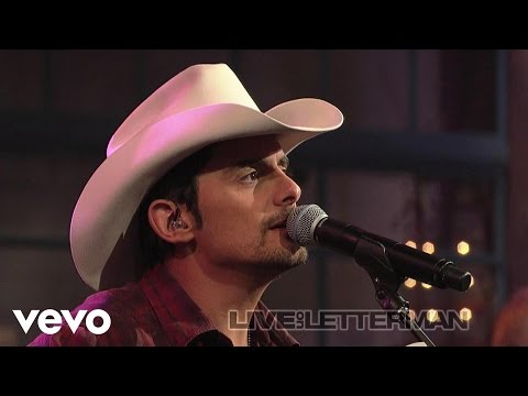 Brad Paisley - Ticks (Live On Letterman)