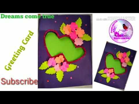 #Birthday#HandmadeCard/Beautiful Handmade birthday card/DIY pop-up Birthday card#Teacher's day card