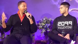 Aladdin - Paris press conference (clip 4K)