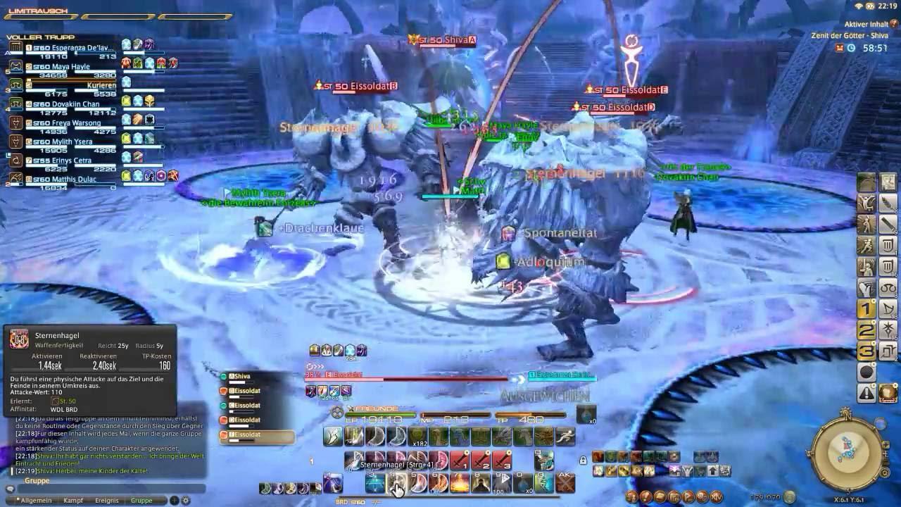 Final Fantasy XIV - Shiva - Pony Farm Runs - Boreas
