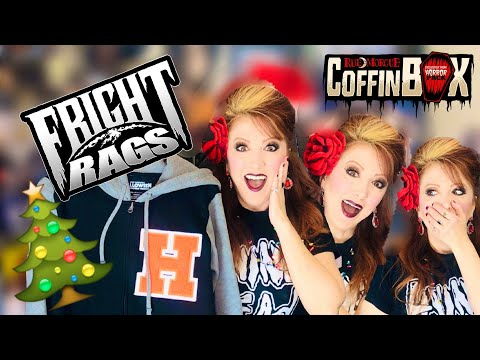 Holiday Horror Haul Featuring Fright Rags Halloween And EPIC Gift And Coffin Box Unboxing