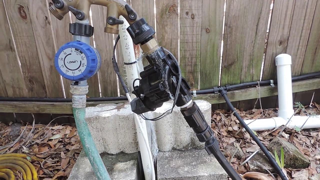 Update - Zwave Sprinkler Control - Irrigation