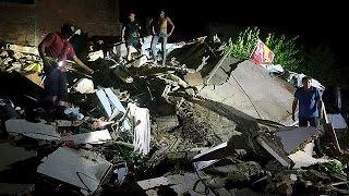 32 قتيلا على الأقل جراء زلزال بقوة 7.8 في الإكوادور