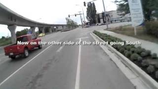 No. 3 Rd Bike Lane Experiment, Richmond BC