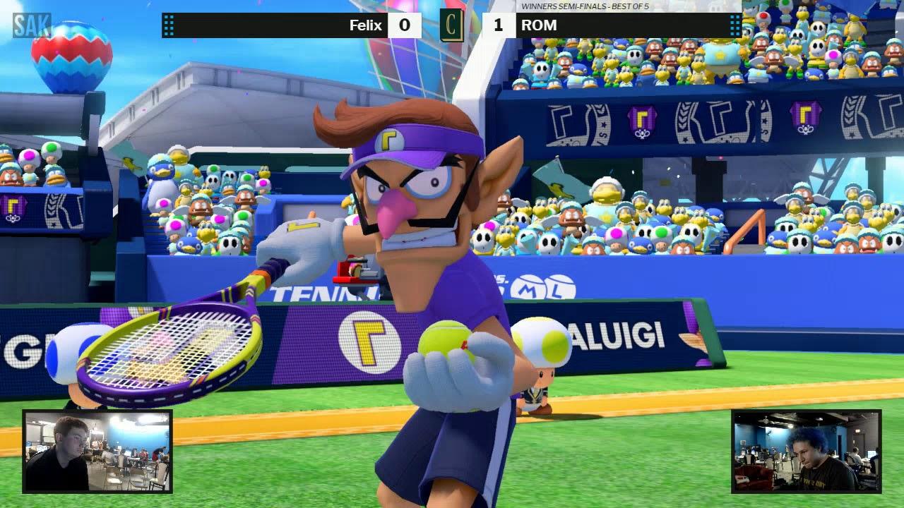 Chronicles: Aces Mario Tennis Winners Semi-Finals - Felix vs ROM