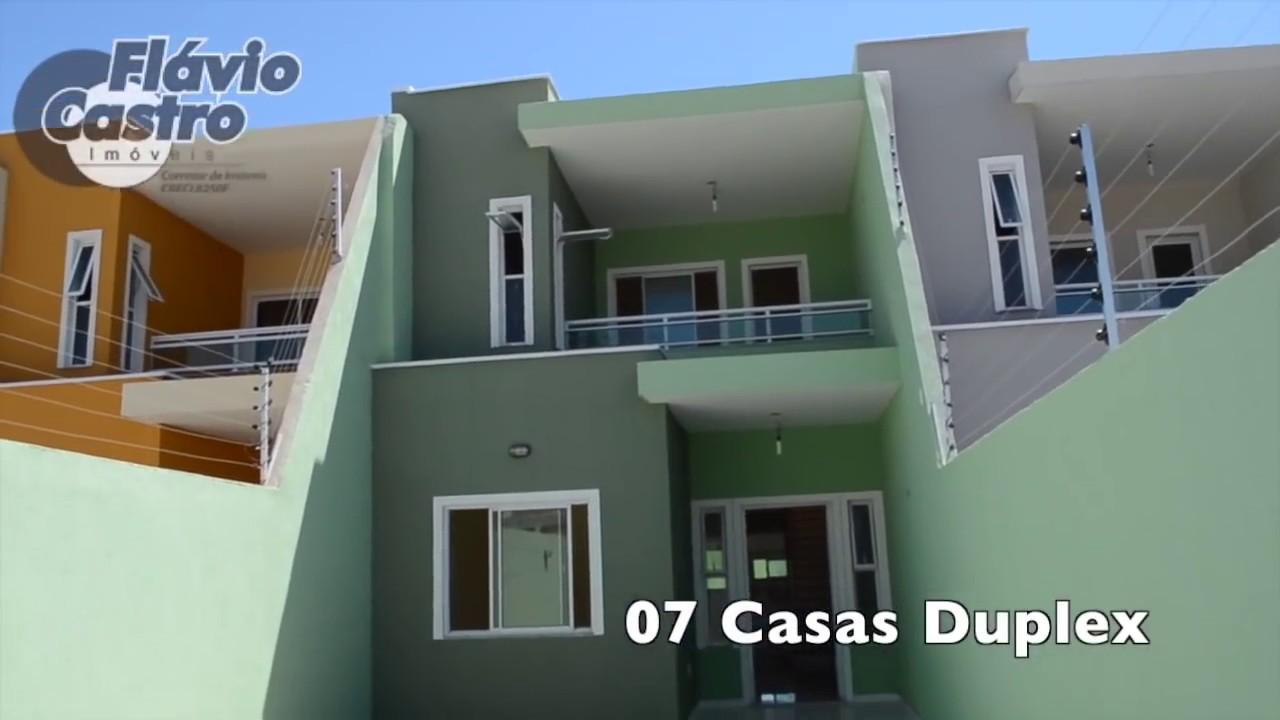 Casas galv o casas duplex soltas no bairro coa u em for Casa moderna de 7 por 15