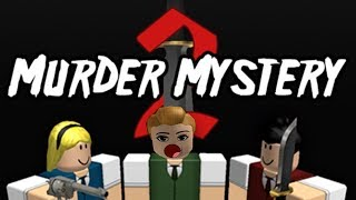 Roblox Murder Mystery! I'm The Sheriff!