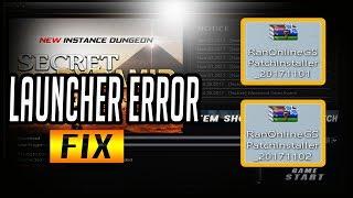 Ran Online GS  *** FIX LAUNCHER ERROR *** 11/2/2017