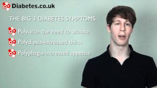 Big 3 Signs of Diabetes
