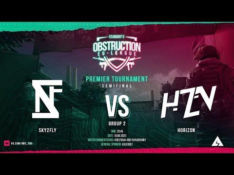 Horizon vs SKY2FLY   Standoff 2 OBS EU   League 1/2