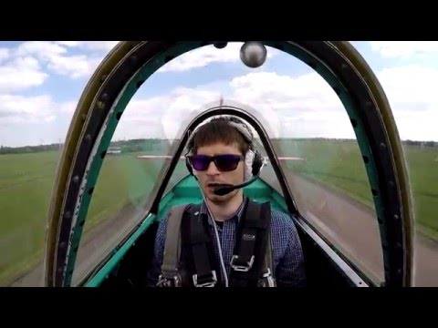 Yak-52 Flight with Yuriy Naydenko. Cherkasy, Ukraine